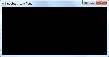 noobtuts - C++ 2D Pong Game