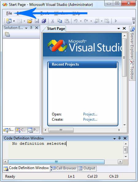 visual-studio-2008-started