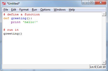 Python New File Code