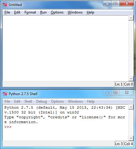 Python New Window
