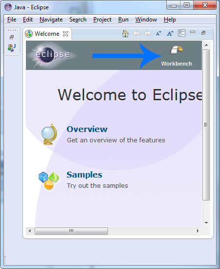 eclipse workbench