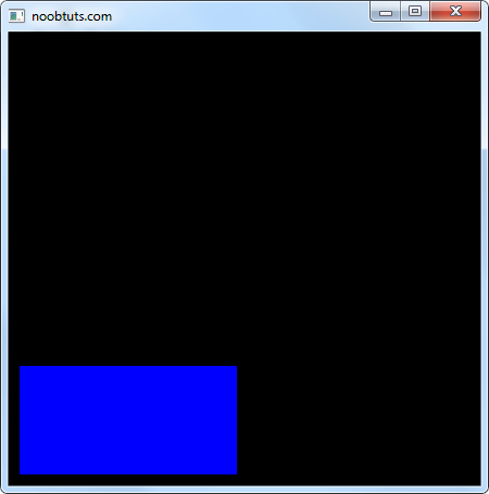 opengl draw rectangle