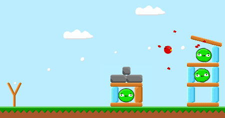 Unity 2D Angry Birds
