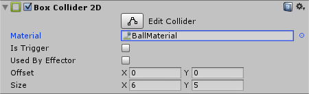 Ball Collider with Physics Material