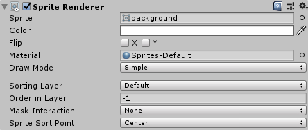 Background Order in Layer