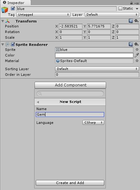 Create Gem Script
