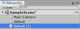 Duplicate default Element