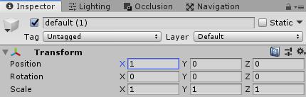 Default Element Duplicate Position