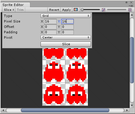 Blinky Sprite Editor Settings