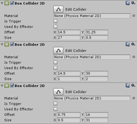 Maze Collider Examples