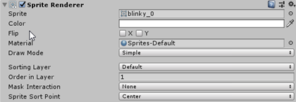 Blinky Order in Layer