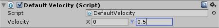 Sun DefaultVelocity Script