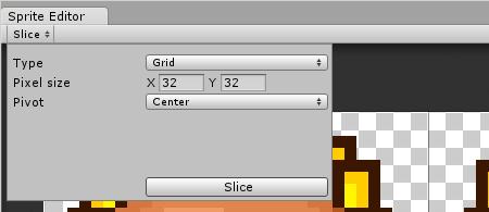 Sunflower Sprite Editor Slicing