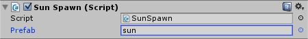 Sunflower SunSpawn Script Prefab