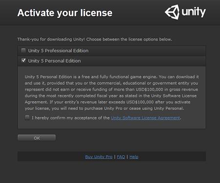unity-license