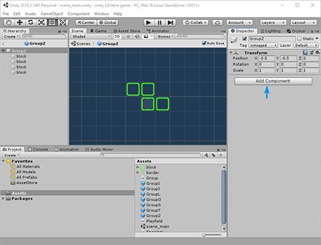 noobtuts - Unity 2D Tetris Tutorial