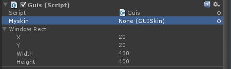 unity-inspector-guiskin