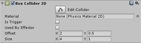Unity Navigation2D BoxCollider2D