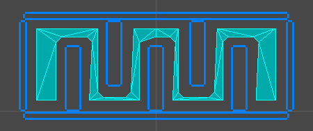 Unity Navigation2D Full Mesh