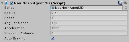 Unity Navigation2D NavMeshAgent2D