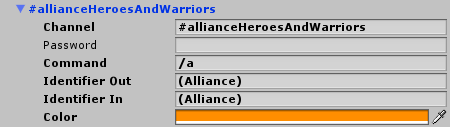 MMORPG alliance chat